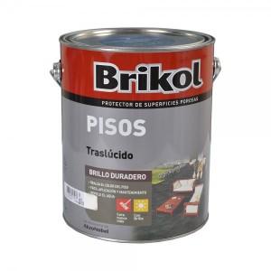 Brikol Pisos Impermeabilizante Colores Traslúcidos 4 Lt