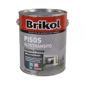 Brikol Pisos Alto Tránsito Colores Plenos 4 Lt