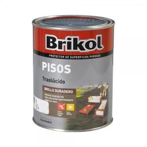 Brikol Pisos Impermeabilizante Colores Traslúcidos 1 Lt