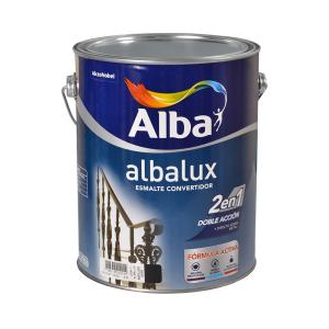 Esmalte Sintético Forja Albalux 2en1 4 Lt