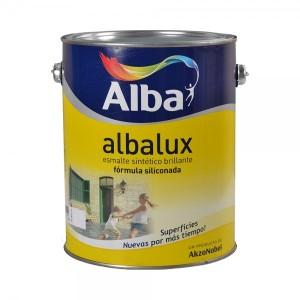 Esmalte Sintético Brillante Albalux 4 Lt