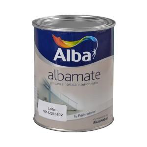 Pintura Sintética Albamate Alba 1 Lt