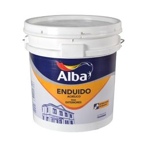 Enduido Exterior Acrílico Alba 10 Lt