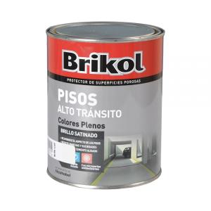 Brikol Pisos Alto Tránsito Colores Plenos 1 Lt
