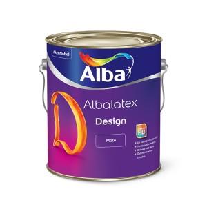Látex Albalatex Design Colores 4 Lt