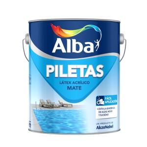 Látex Acrílico Piletas Alba 10 Lt