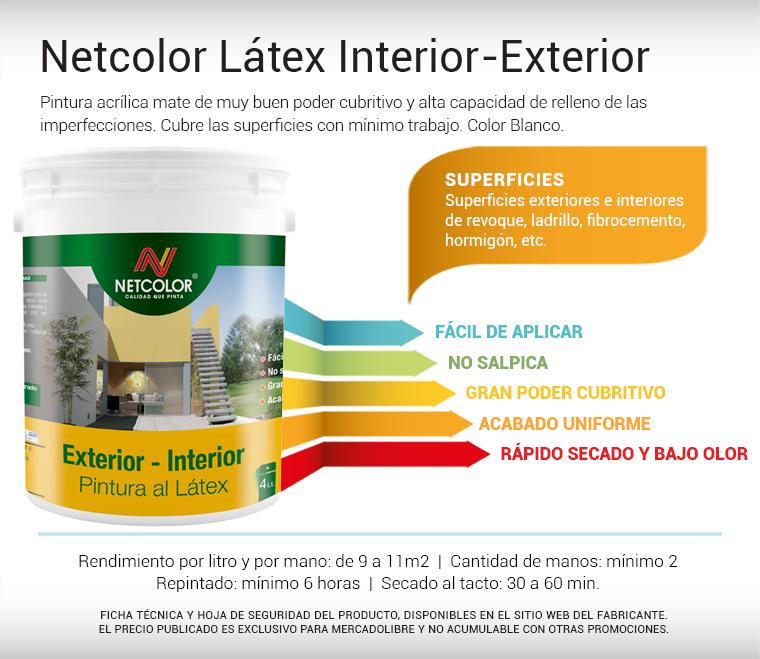 Pintura latex interior alba 20 litros precio for Pintura para interiores precios